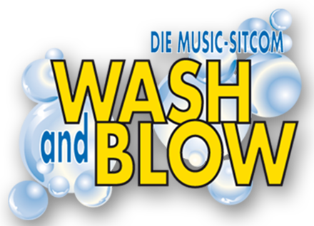 Logo Wash and Blow
